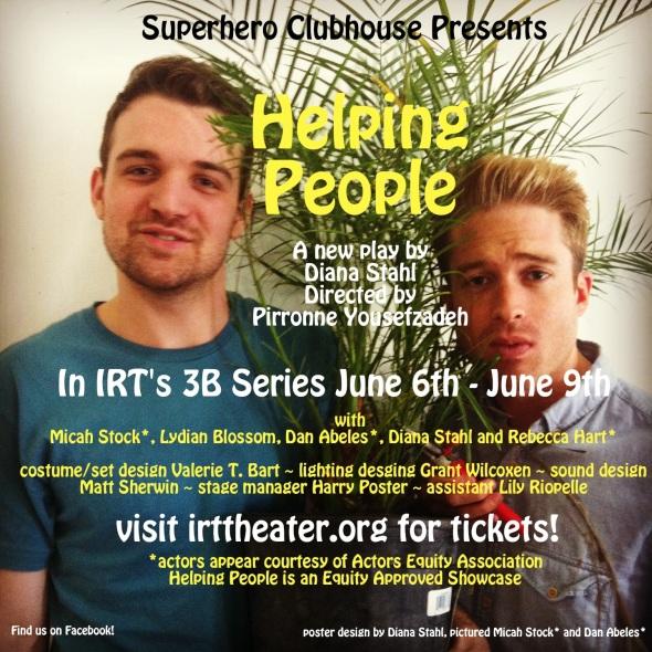 Helping People IRT June 6 - 9